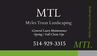 MTL LANDSCAPING lawn care grass cutting lawm maintenance mowing
