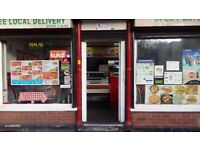 RUNNING BUSINESS PIZZA CURRY KEBAB BURGER HOUSE TAKEAWAY SHOP FOR SALE