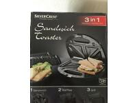 Grill and Sandwich Toaster