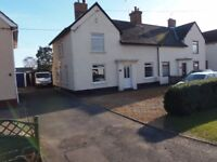 3 Bed Semi Detached House For Private Rent In Yaxley, Generous Garden And Driveway, Oversized Garage