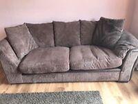 Chalice Left Hand Facing 2 Seater Pillow Back Corner Sofa