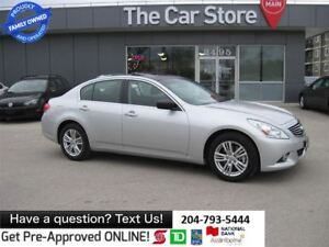 2011 Infiniti G37X AWD, LEATHER, SUNROOF BACK CAM
