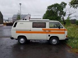 VW T25 1984 CAMPERVAN DIESEL LHD