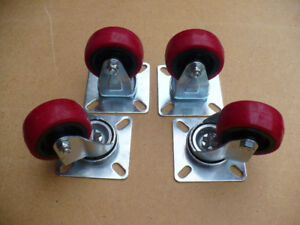 "2"" Casters"