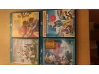 4 Kids Blu-ray / DVDs - Pinocchio - Gnomeo & Juliet - Alvin 2 - Rio
