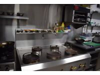 Commercial Chinese/Thai Wok 6 Burner For Sale