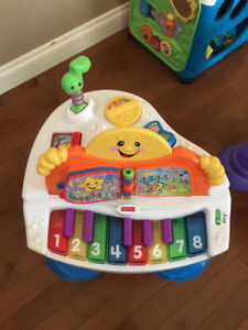 Fisher Price Interactive Baby Grand Piano. Activity Table.