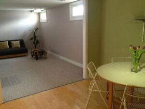 One Bedroom furnished suite available for September and October
