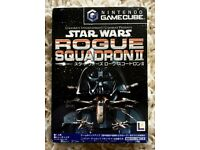 Game Star Wars Rogue Squadron II for Japanese Nintendo Game Cube console.