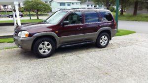 2002 Mazda Tribute ES SUV, Crossover