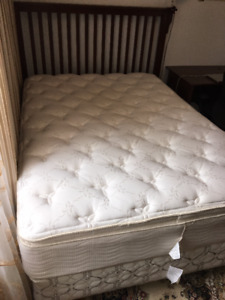 Bedroom Set and Mattress for Sale