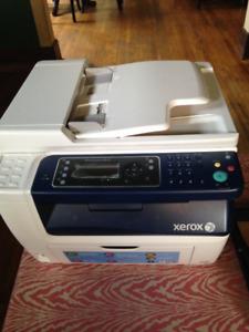 Xerox laser color printer/scanner/fax/copier