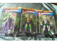 DC Direct superman figures
