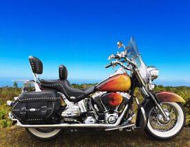 Customised Harley-Davidson Heritage Softail