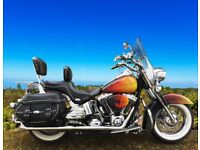 Customised Harley-Davidson Heritage Softail - Price Reduced for Quick Sale!