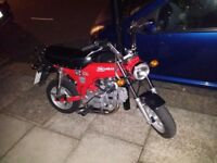 Superb Skymax Skyteam 125 Dax with Competition Exhaust Pipe