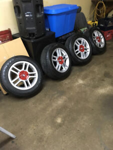 Factory Toyota rims and New Goodyear tires