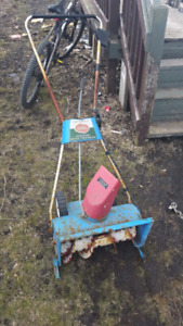 electric snow thrower for sale. $40