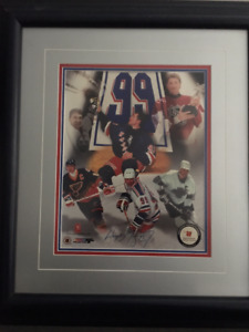 Gretzky Retirement - Signed