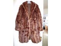 Vintage mink 3/4 coat