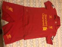 Liverpool Kit. Small boys to fit 6/8