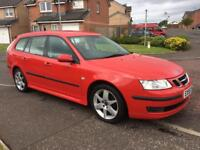 Saab 9-3 Vector Sport 1.9 TD Diesel Estate 2006 Immaculate as Focus Vectra Mondeo Insignia Astra A4