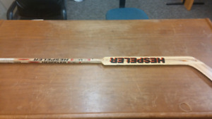 Hespeler Goalie Stick Used By NHL Player Mike Vernon in 80s