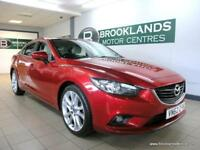 Mazda 6 2.2 SPORT 150PS [5X MAZDA SERVICES, SAT NAV, LEATHER, HEATED SEATS, BOSE