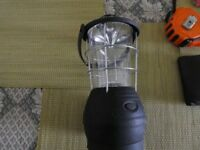 Dynamo wind-up camping light