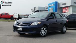 2013 Toyota Corolla CE, AUTO, PWR GRP, HEATED SEATS, ONE OWNER