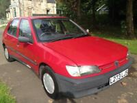 PEUGEOT 306 XND (red) 1994