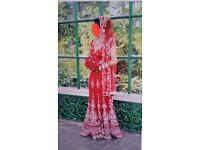 Red Bridal Lengha
