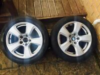 "BMW 17"" Alloy Wheels, Alloys x2"