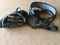 Wild Country Vision Ziplock Junior Adjustable Climbing Harness and Red Chilli chalk bag