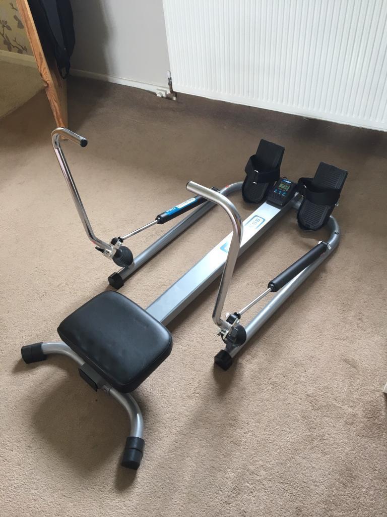 pro fitness dual hydraulic rowing machine instructions