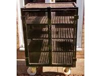 Lockable wheeled cabinet /van safe /garage storage