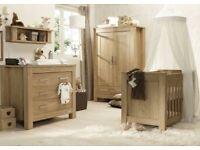 Entire Nursery Range – BabyStyle Bordeaux Furniture Set by Charnwood and Full Range Of Mamas & Papas