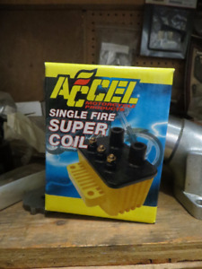 New  Accel Single fire coil for Harleys !!!