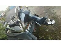 4m Avon rib and yamaha 40hp outboard engine
