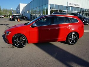 2015 Volvo V60 T6 R design with Certified Pre-Owned Warranty!
