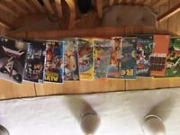 Collection of Childrens DVD's including Disneys Moana and Kung Fu Panda