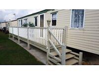 caravan to rent special offer Ingoldmells/Skegnes 4th - 8th September 3 bed 6/8 birth great location