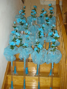Table Decorations for weddings, birthdays, Christening, Parties