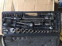 ratchet socket set tools 50 pcs