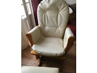 Baby rocking chair Glider Chair & Stool Leather Covers