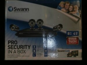 Swann Pro Security 8 Channel Monitoring System with 4 Cameras