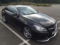 2013 Mercedes E250 AMG Coupe 10 months mot full service history 62000 miles £15995