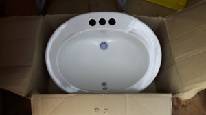BRAND NEW OVAL SINK