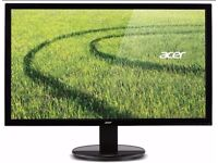 NEW Acer K222HQL 21.5 inch LED Monitor - Full HD 1080p, 5ms Response, VGA DVI HDMI