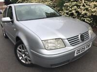 2005 Volkswagen bora highline tdi 130bhp 1.9 Diesel 6 speed full history leather